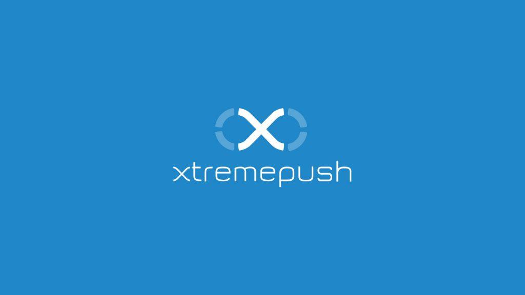 xtremepush logo blue