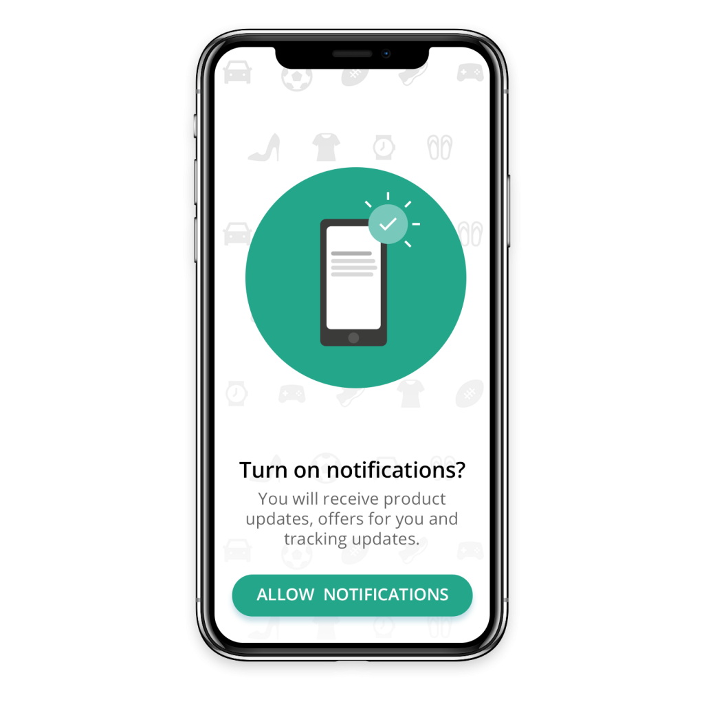 Using in-app messages to increase opt-ins for push notifications