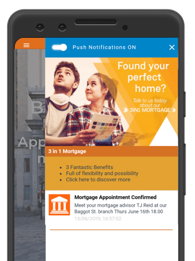 The appearance of your app inbox is fully customisable