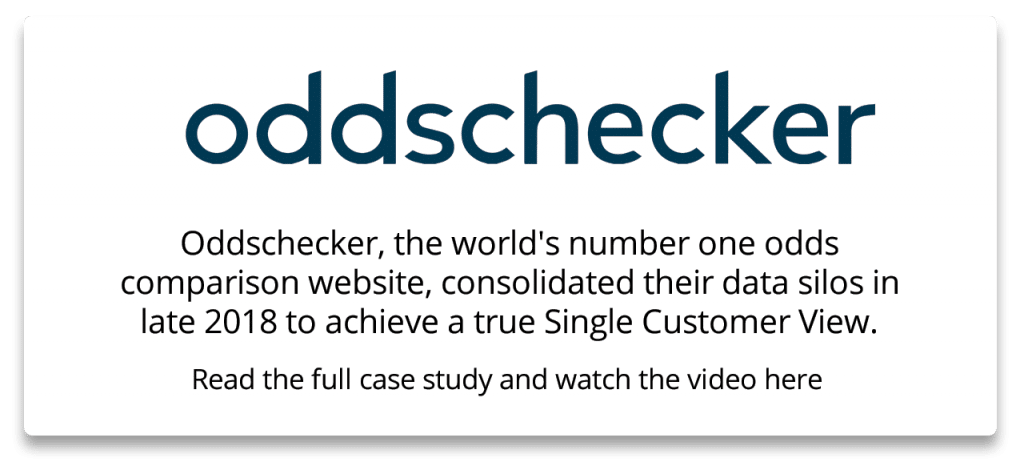 Oddschecker consolidated their data silos and have since achieved incredible results