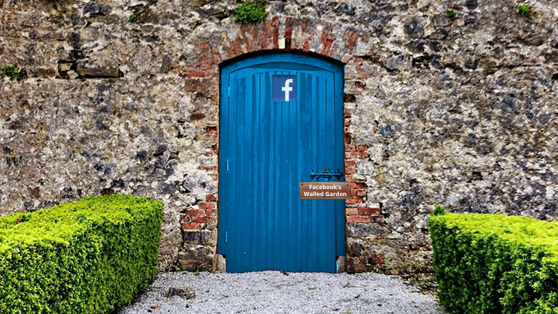 Digital engagement and advertising-Facebook's walled garden