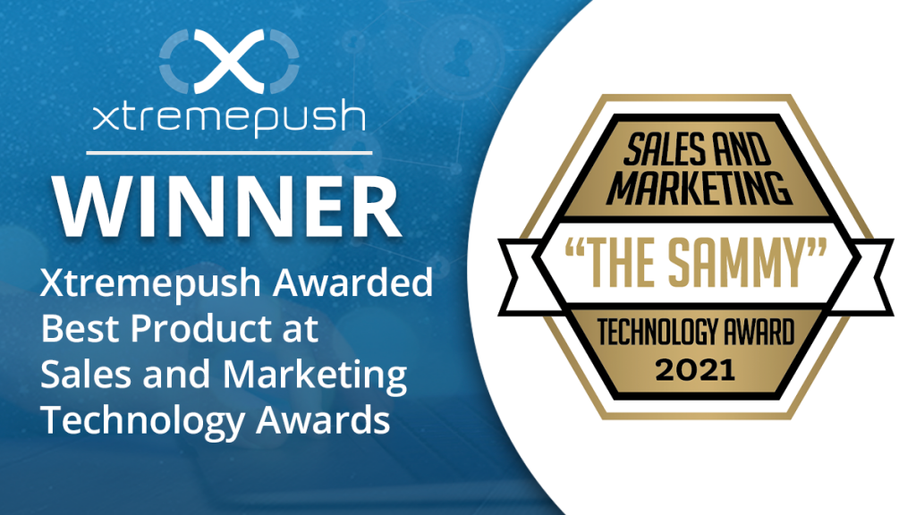 Xtremepush Awarded Best Product at Sales and Marketing Technology Awards