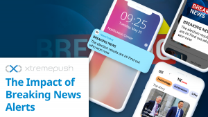 The Impact of Breaking News Alerts